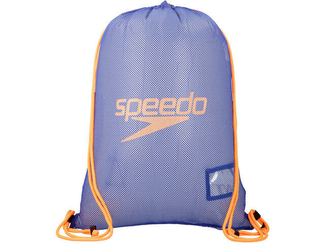 speedo Equipment Mesh Bag L ultramarine/ fluo orange at